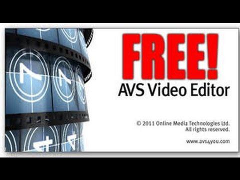 avs video editor crack no text back