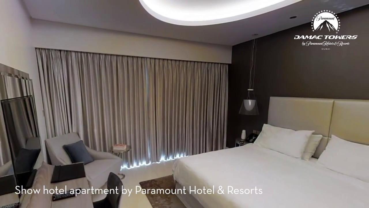 Video Tour Of Hotel Room In Damac Towers By Paramount