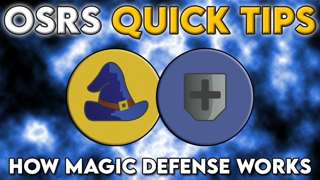 How Magic Defense Works - OSRS Quick Tips in 3 Minutes or Less