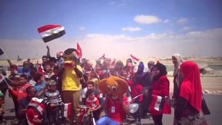 حزب مستقبل وطن يحتفل بيوم اليتيم فى قناة السويس الجديدة 4أبريل 2015
