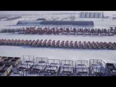 Vraiment du bon travail. Les tracteurs CLAAS. Rodina, Kazakhstan. / 2016