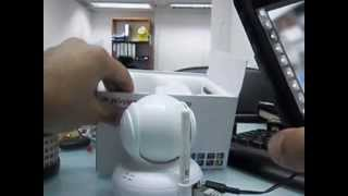 ip camera wireless P2P fast easy setup for iphone/android/pc-how to install? easy! vision/wanscam