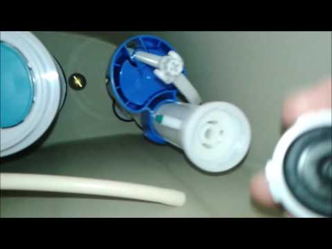 Glacier Bay dual flush toilet fill valve clean out