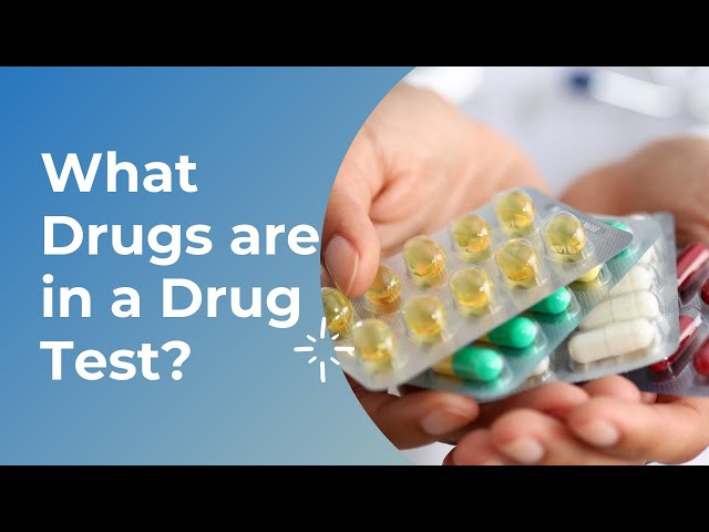 What Drugs are in a Drug Test?