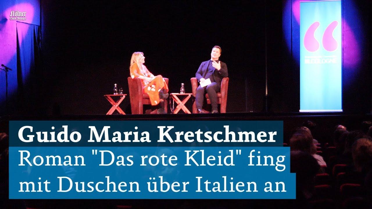 2d7051dab9e2 Guido Maria Kretschmer - Das rote Kleid  Erster Roman des Designers auf der  lit.Cologne