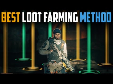 The Division   Best Solo Player Loot Farming Method   Patch 1.5