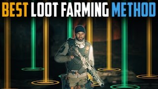 The Division | Best Solo Player Loot Farming Method | Patch 1.5