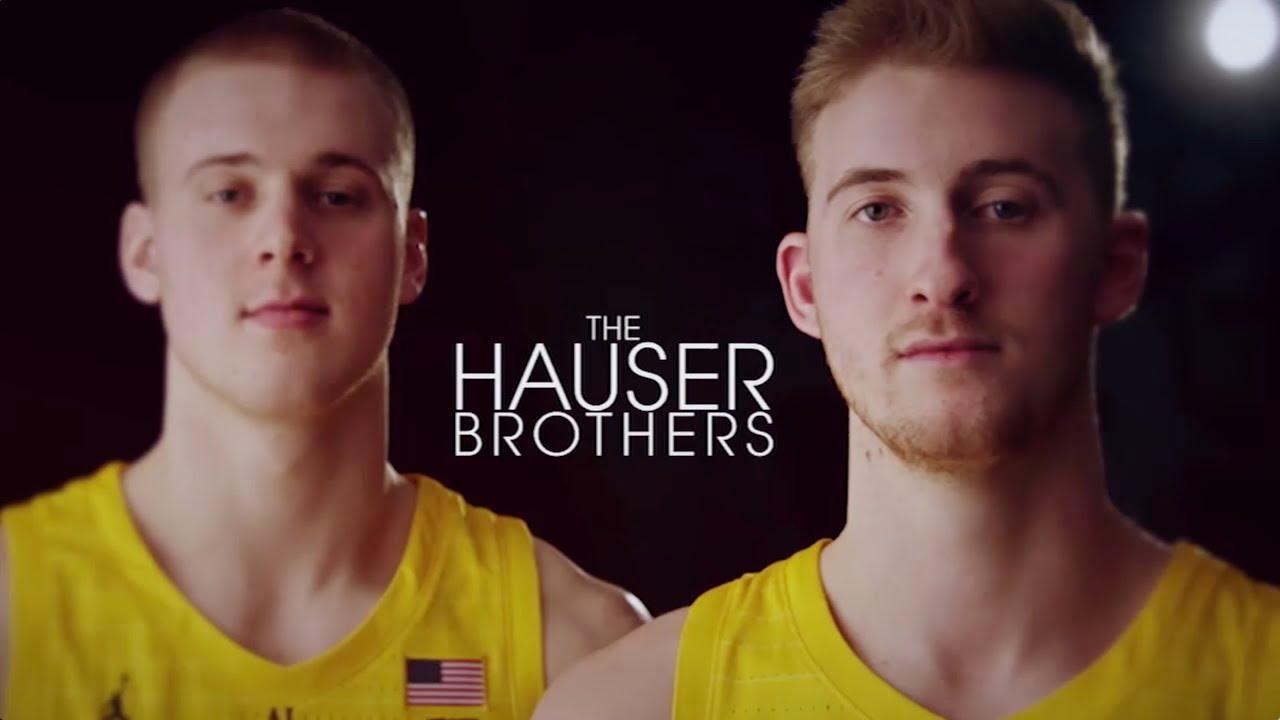 Sam And Joey Hauser Will Visit Wisconsin, Iowa, Michigan State And