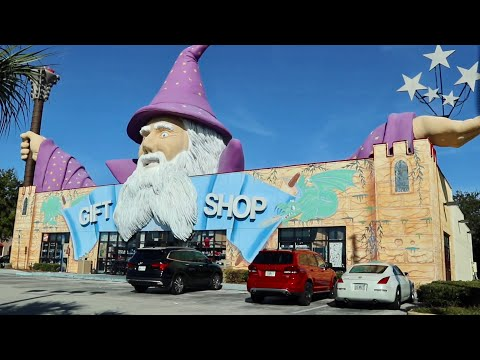 The Weird And Wacky World of Highway 192 in Kissimmee Florida / Extinct Theme Parks & Gigantic Fun