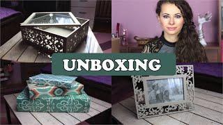 UNBOXING - Bútoraim.hu csomag | Viszkok Fruzsi