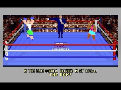 4D Sports Boxing (PC/DOS) 1991, Distinctive Software Inc, Mindscape
