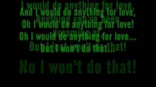 Meat Loaf - I Would Do Anything For Love (But I Won