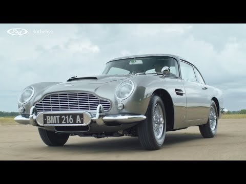 James Bond's Aston Martin DB5 sells for $6.4M, working Q gadgets included