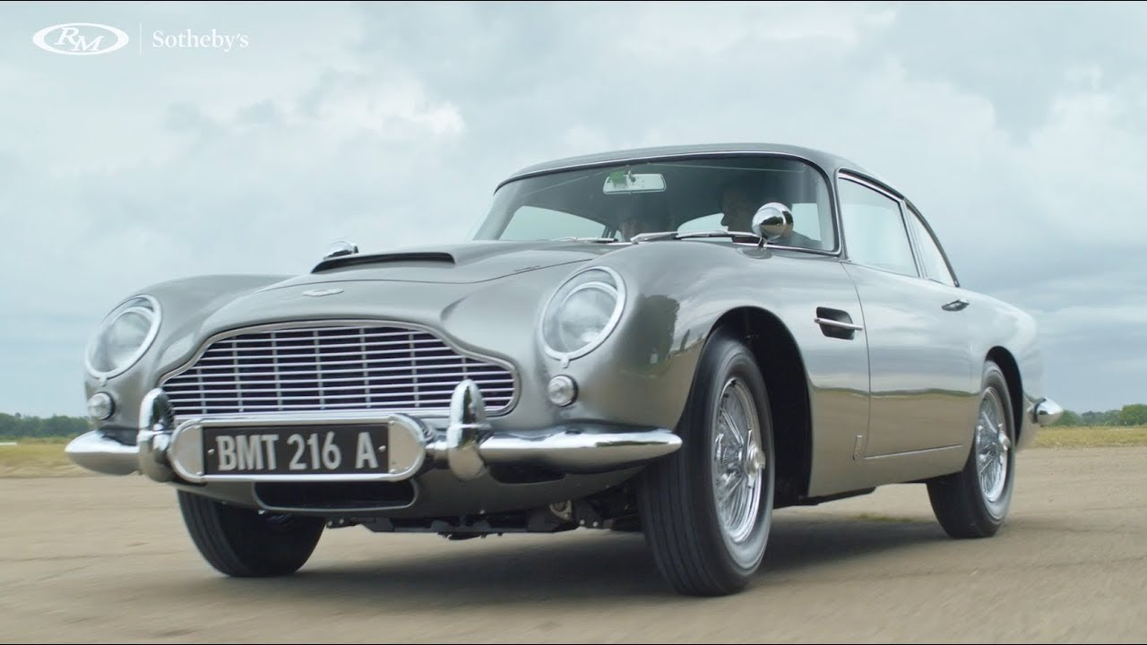 Aston Martin Sports Car From Goldfinger Sells For 6 4m Upi Com