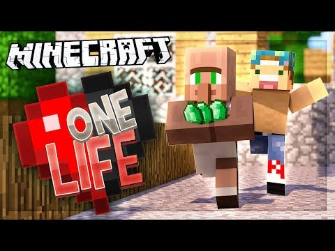 SCAMMED BY VILLAGERS!   One Life SMP #52