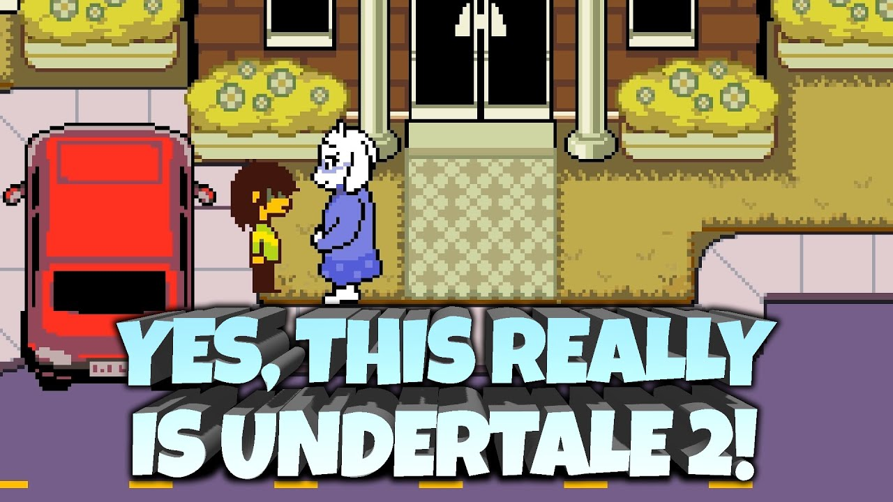 Undertale 2 Is Here Deltarune Explained First Impressions Underlab Youtube