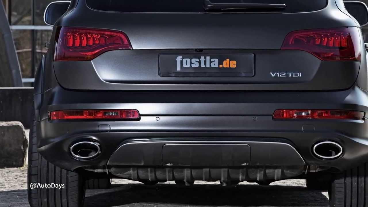 2012 Audi Q7 V12 TDI Modified By fostla de - YouTube