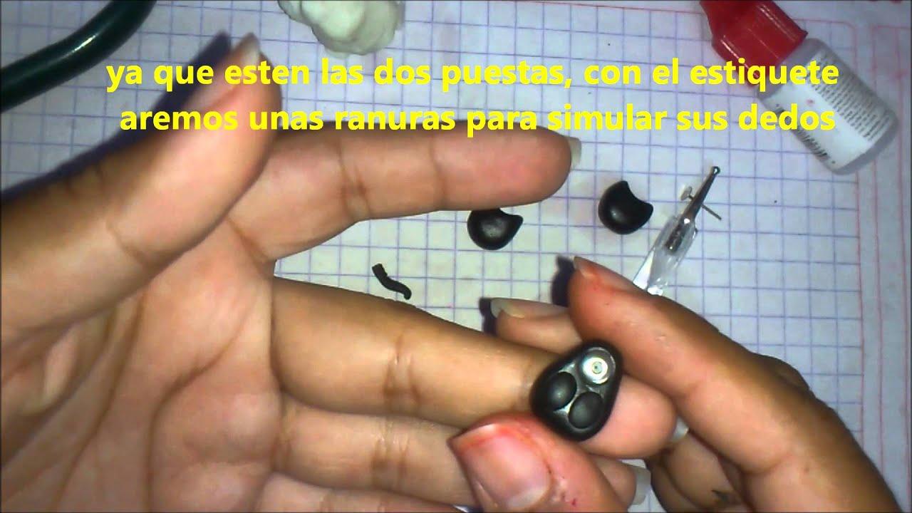 a23040ad7e72 Como hacer Aretes de Gato -Arcilla polimerica-Polymer Clay- - YouTube