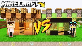 ZAMEK CRAFTING TABLE VS ZAMEK PISTON W MINECRAFT!