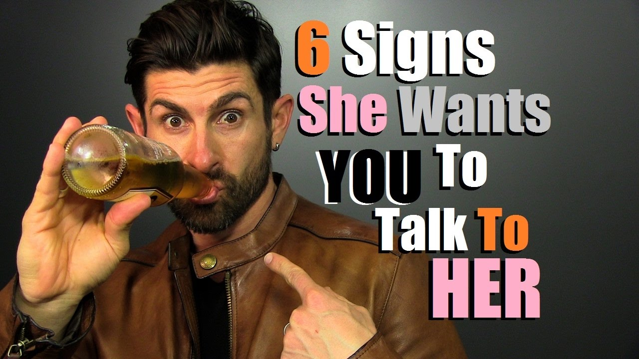 what to do when you see a girl you like