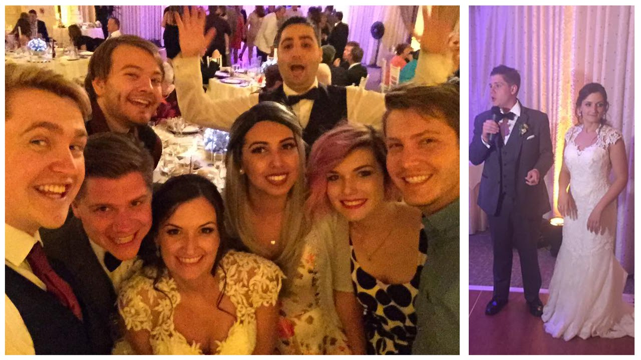 LAURENZSIDES' WEDDING AND GOING TO AMERICA!