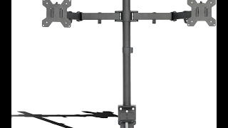STAND-V002 Dual Monitor Desk Mount by VIVO