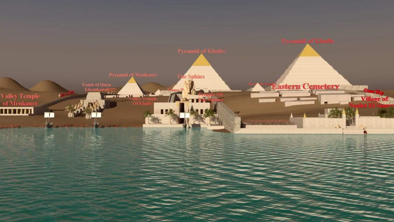 Egypt closes Great Pyramid after rumours that Jews would