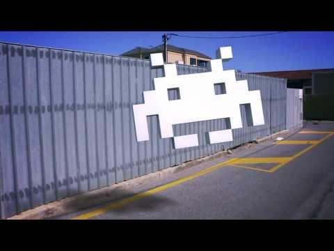 Space Invader 3D Track Test