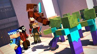 Şehİrde Zombİ İstİlasi! 😱 - Minecraft