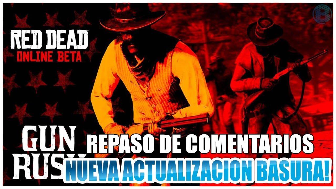 NUEVA ACTUALIZACION BASURA DE Red Dead Redemption 2 ONLINE (Repaso de comentarios) Bauer Games