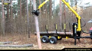 Przyczepa do zrywki drewna HYDROFAST H9
