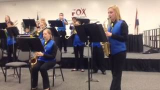 Sultry Sunset - Spring Jazz Concert - 8th Grade