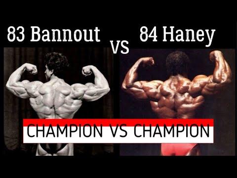 Samir Bannout 1983 vs Lee Haney 1984