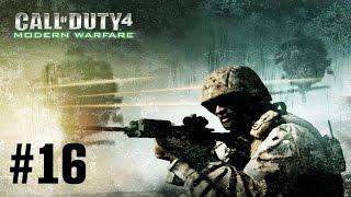 Прохождение Call of Duty 4: Modern Warfare - Часть 16: В командном пункте (Без комментариев)