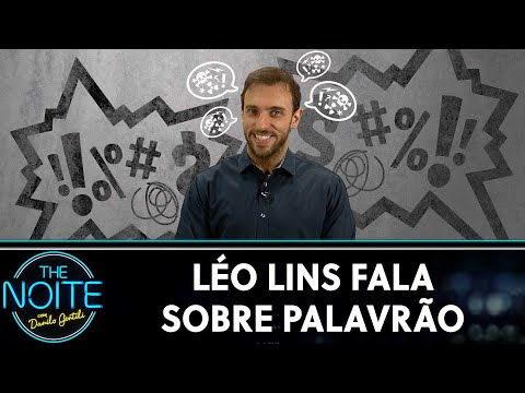 Léo Lins Fala Sobre Palavrão | The Noite (19/09/19)