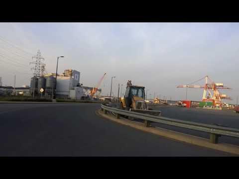 """Via Rail """"The Ocean"""" leaving Halifax Port"""