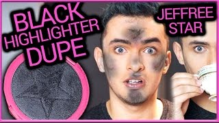JEFFREE STAR ONYX ICE DUPE | BLACK HIGHLIGHTER