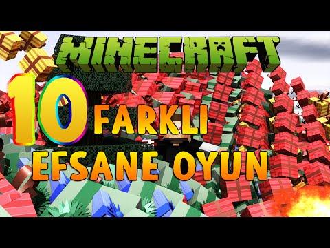 10 FARKLI EFSANE OYUNLAR!! - Minecraft EFSANE MİNİGAMESLER!