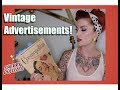 Reading Old Ads from a 1940s Vintage Magazine! CHERRY DOLLFACE
