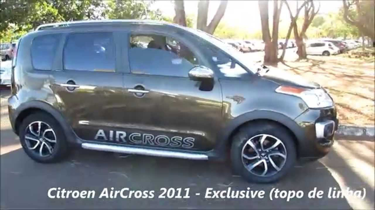 citroen aircross 2011 exclusive 1 6 flex topo de linha youtube. Black Bedroom Furniture Sets. Home Design Ideas