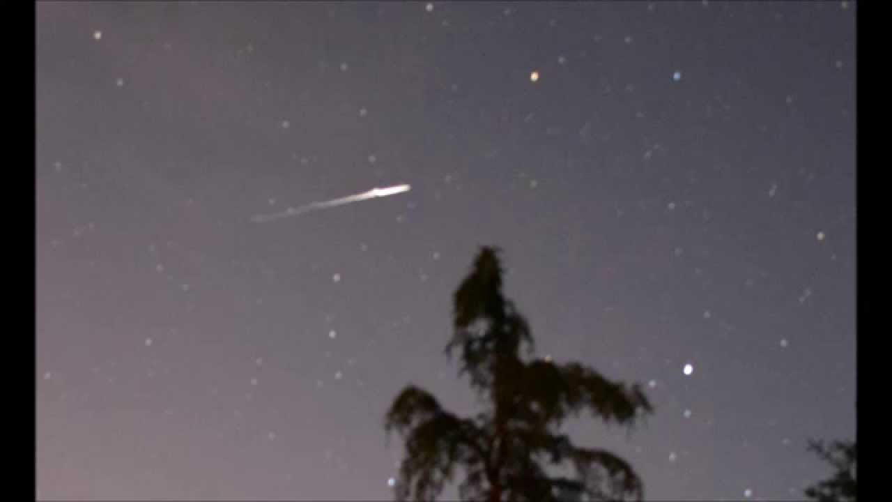 Beautiful Backyard Stars Time Lapse W Shooting Star And Unknown