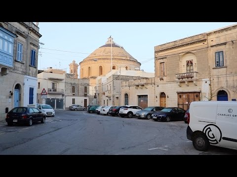 Mosta, Malta. Morning – Mosta Rotunda church.