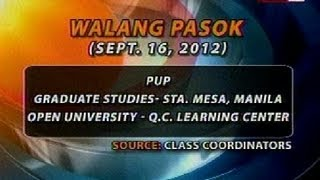 BT: Class suspension (Sept 16, 2012)