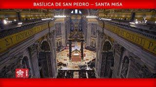 Papa Francisco- Basílica de San Pedro   Santa Misa Jornada Mundial de los pobres 2018-11-18 thumbnail