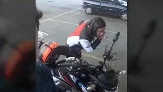 Uma moto resolve passeio pra Aparecida