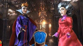 Золушка Мультфильм Куклы Disney Продолжение Злая Королева и Мачеха Коварный план Мультик для девочек