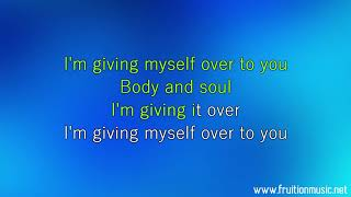 Giving Myself - Jennifer Hudson (High Key) [Instrumental with Lyrics]