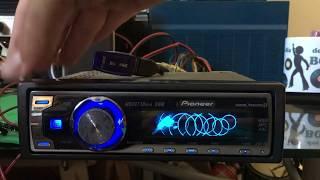 teste USB Pioneer DEH-P7980ub