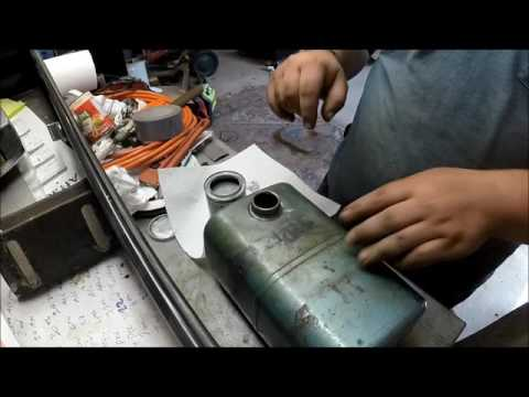 How To seal a leaking or rusty fuel tank