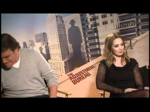 Matt Damon and Emily Blunt - Adjustment Bureau Junket Interviews